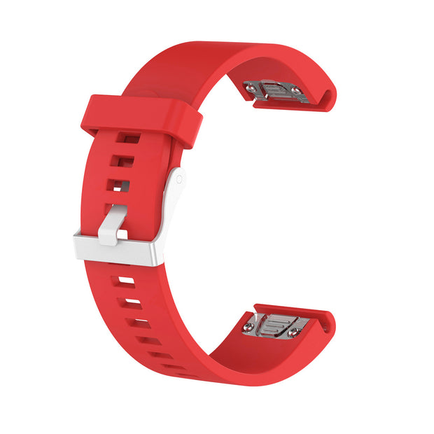 Mobile Mob Garmin Fenix 5S,5S Plus,6S,6S Pro,D2 Delta Replacement Bands Strap Quickfit (20mm) Red