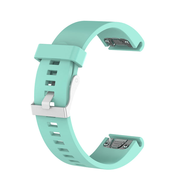 Mobile Mob Garmin Fenix 5S,5S Plus,6S,6S Pro,D2 Delta Replacement Bands Strap Quickfit (20mm) Teal