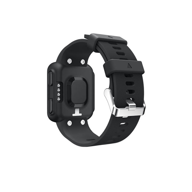 Mobile Mob Garmin Forerunner 35 Bands Replacement Strap Kit with Stainless Buckle Black