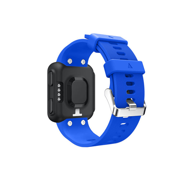Mobile Mob Garmin Forerunner 35 Bands Replacement Strap Kit with Stainless Buckle Blue