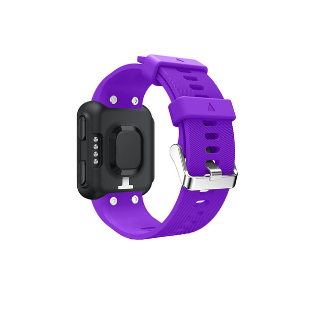 Mobile Mob Garmin Forerunner 35 Bands Replacement Strap Kit with Stainless Buckle Purple