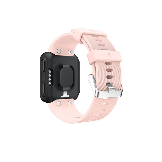 Mobile Mob Garmin Forerunner 35 Bands Replacement Strap Kit with Stainless Buckle Pink