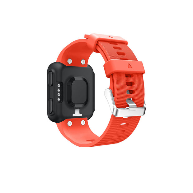 Mobile Mob Garmin Forerunner 35 Bands Replacement Strap Kit with Stainless Buckle Orange
