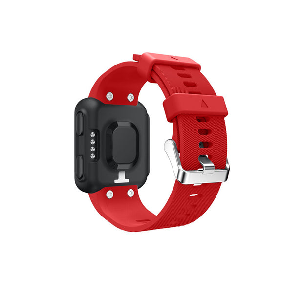 Mobile Mob Garmin Forerunner 35 Bands Replacement Strap Kit with Stainless Buckle Red