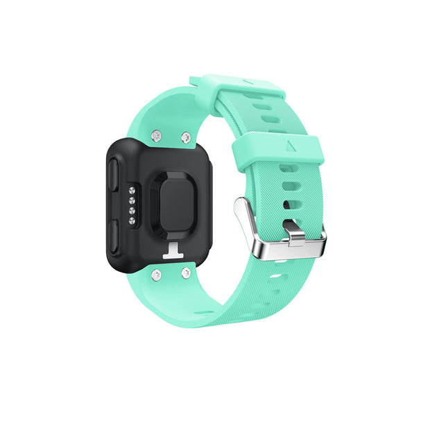 Mobile Mob Garmin Forerunner 35 Bands Replacement Strap Kit with Stainless Buckle Teal