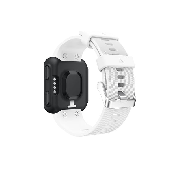 Mobile Mob Garmin Forerunner 35 Bands Replacement Strap Kit with Stainless Buckle White