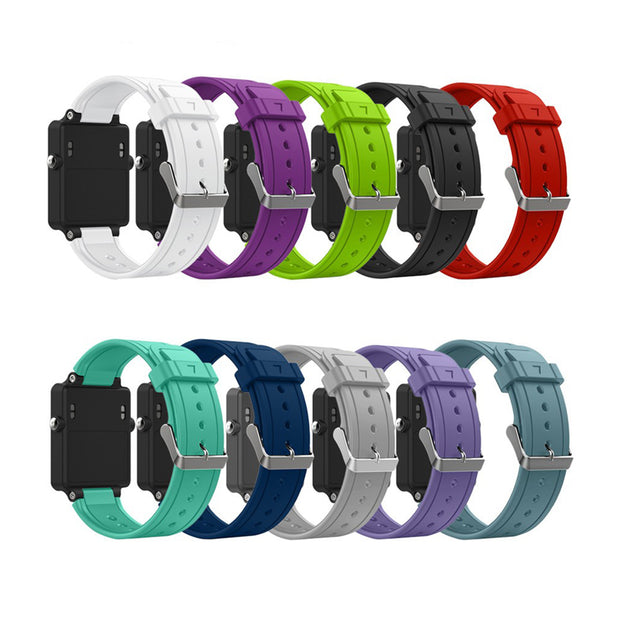 Mobile Mob Garmin Vivoactive Acetate Replacement Bands Strap with Stainless Buckle