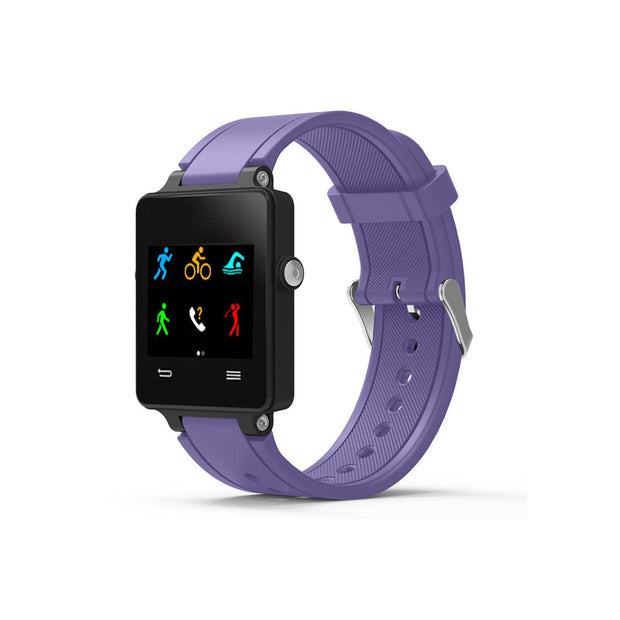 Mobile Mob Garmin Vivoactive Acetate Replacement Bands Strap with Stainless Buckle Light Purple