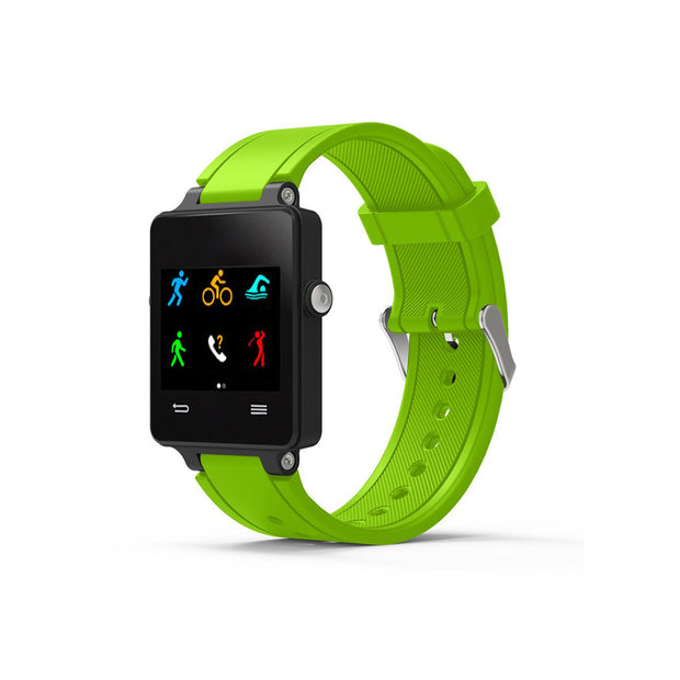 Mobile Mob Garmin Vivoactive Acetate Replacement Bands Strap with Stainless Buckle Lime