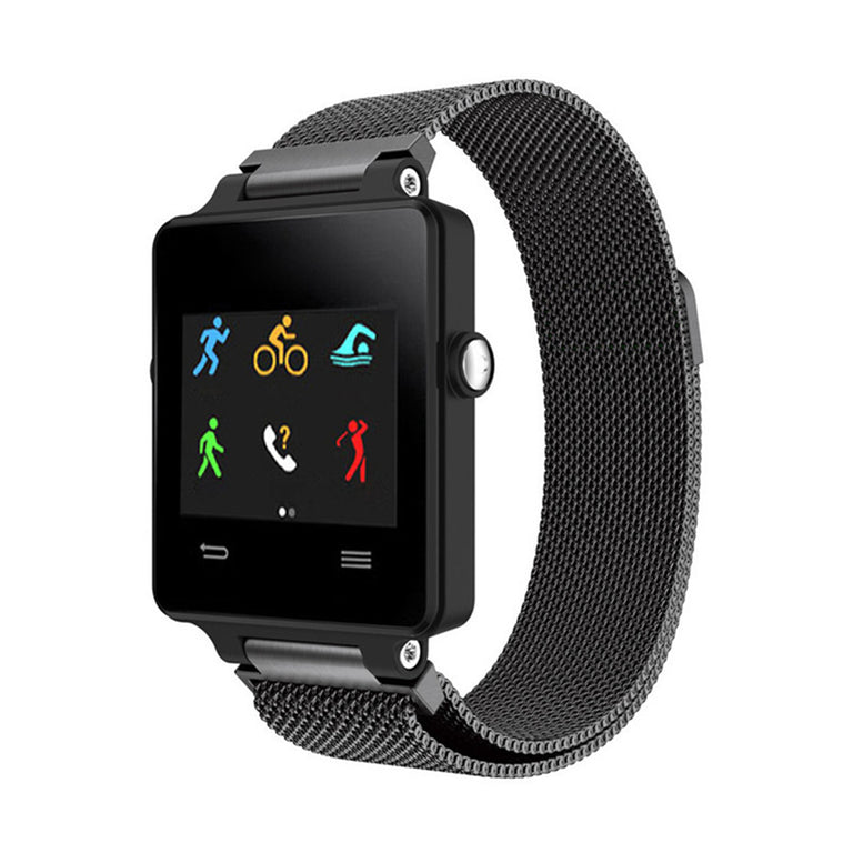 Magnetic Stainless Mesh Milanese StrapD Garmin Vivoactive Bands