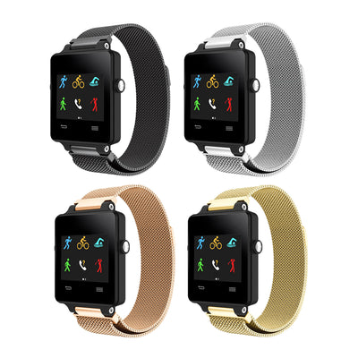 Mobile Mob Milanese Garmin Vivoactive Band Replacement Magnetic Lock