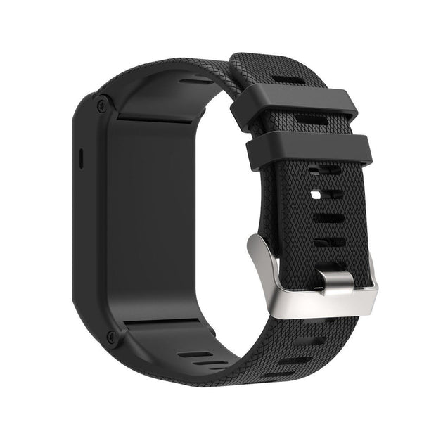 Mobile Mob Garmin Vivoactive HR Replacement Bands Strap with Stainless Buckle Black