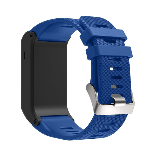 Mobile Mob Garmin Vivoactive HR Replacement Bands Strap with Stainless Buckle Blue