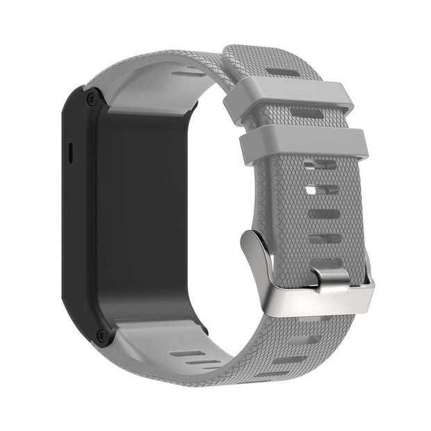 Mobile Mob Garmin Vivoactive HR Replacement Bands Strap with Stainless Buckle Grey