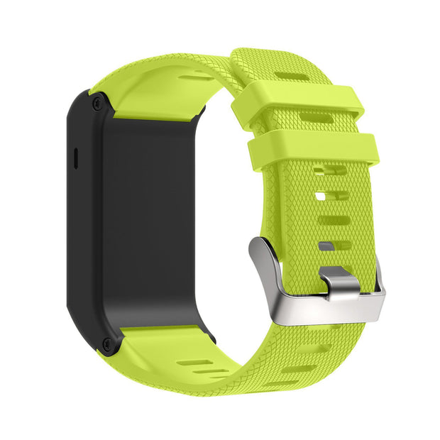 Mobile Mob Garmin Vivoactive HR Replacement Bands Strap with Stainless Buckle Green