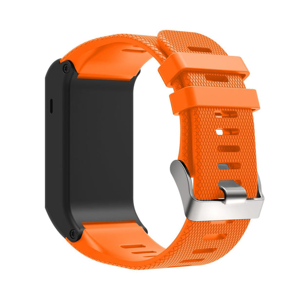 Mobile Mob Garmin Vivoactive HR Replacement Bands Strap with Stainless Buckle Orange