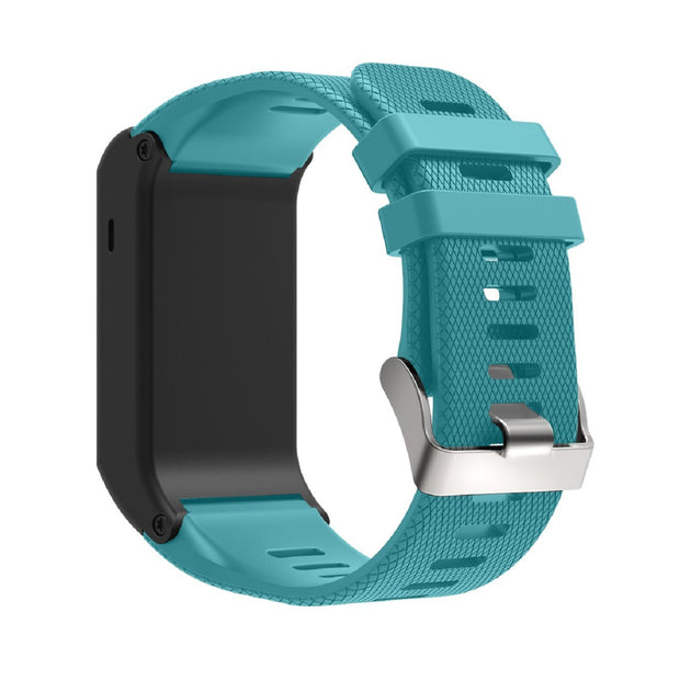Mobile Mob Garmin Vivoactive HR Replacement Bands Strap with Stainless Buckle Teal