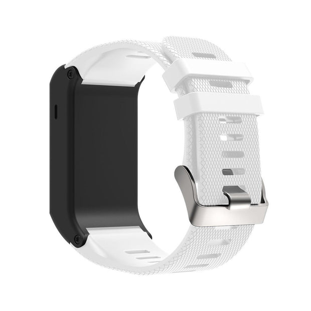 Mobile Mob Garmin Vivoactive HR Replacement Bands Strap with Stainless Buckle White