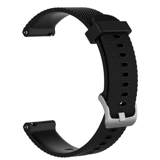 Mobile Mob Garmin Vivoactive 3 Vivomove HR Forerunner 645 Replacement Bands Strap (20mm) Small / Black
