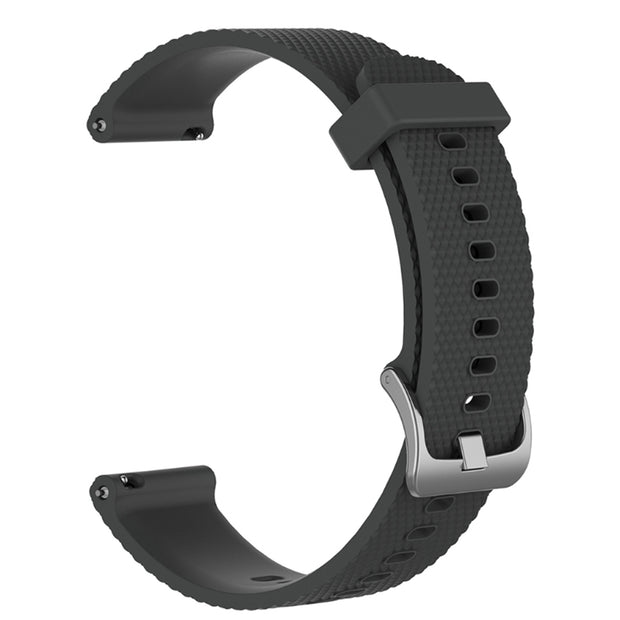Mobile Mob Garmin Vivoactive 3 Vivomove HR Forerunner 645 Replacement Bands Strap (20mm) Small / Grey