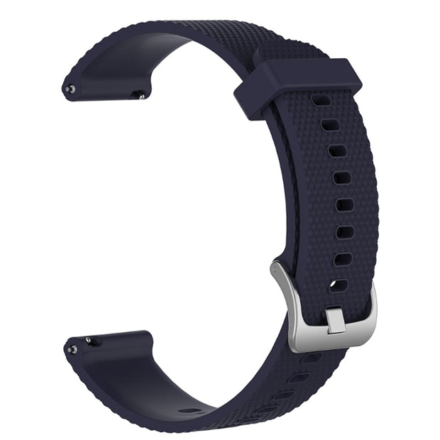 Mobile Mob Garmin Vivoactive 3 Vivomove HR Forerunner 645 Replacement Bands Strap (20mm) Small / Navy Blue
