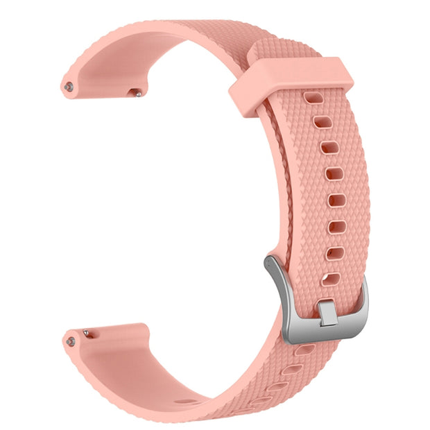 Mobile Mob Garmin Vivoactive 3 Vivomove HR Forerunner 645 Replacement Bands Strap (20mm) Small / Pink