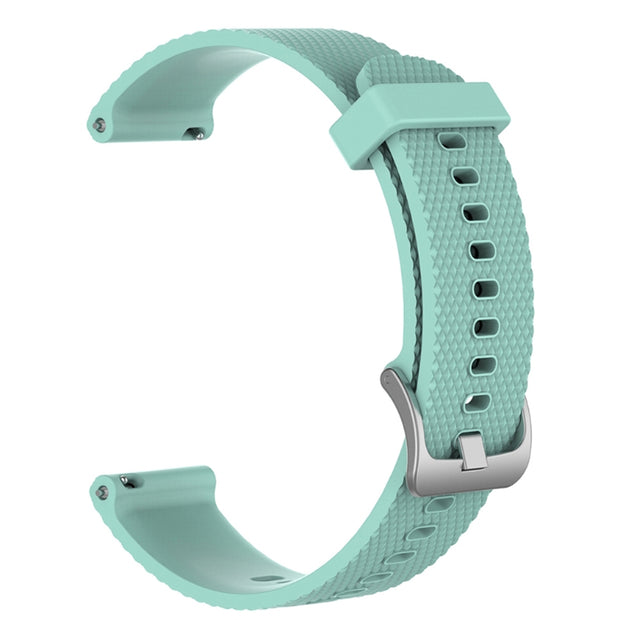 Mobile Mob Garmin Vivoactive 3 Vivomove HR Forerunner 645 Replacement Bands Strap (20mm) Small / Teal