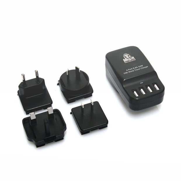 Gorilla Power 4-Port USB Wall Travel Charger 34W (6.8A)