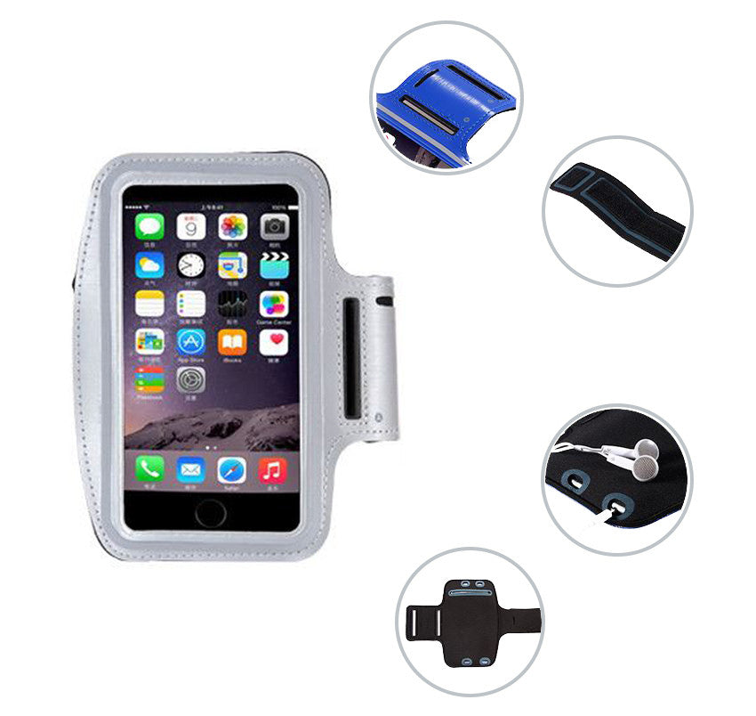 "Sport Gym Running Jogging Armband For Apple iPhone 6 Plus 5.5"" features"