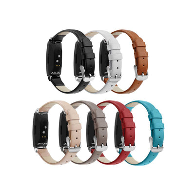 Mobile Mob Leather Fitbit Inspire & Inspire HR Bands Replacement Strap