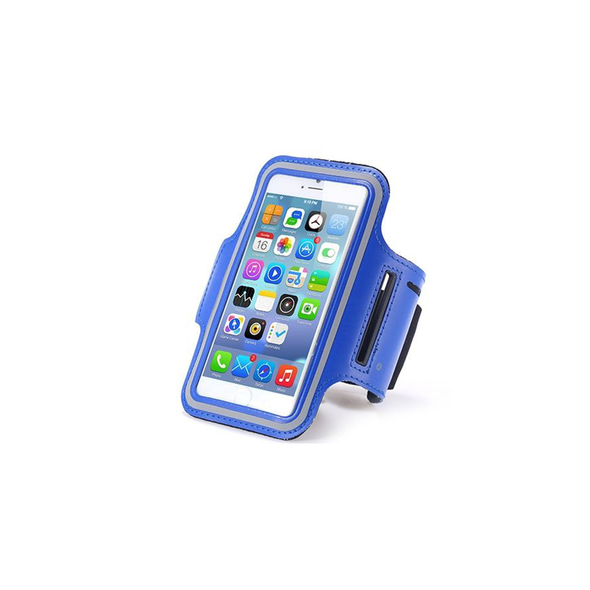 "Sport Gym Running Jogging Armband For Apple iPhone 6 Plus 5.5"" blue"