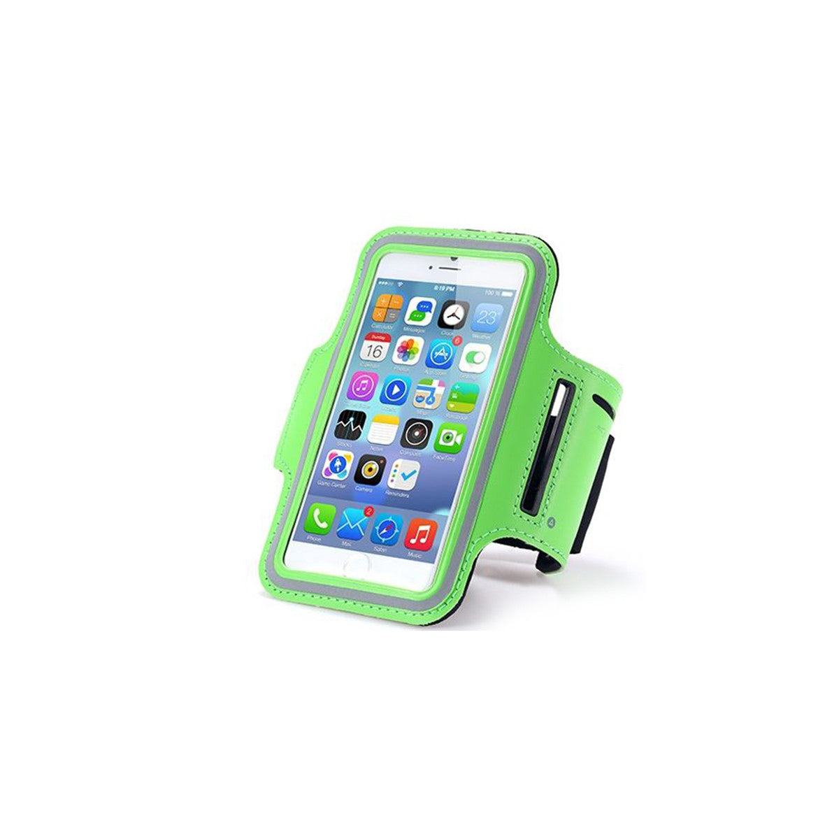 "Sport Gym Running Jogging Armband For Apple iPhone 6 Plus 5.5"" green"