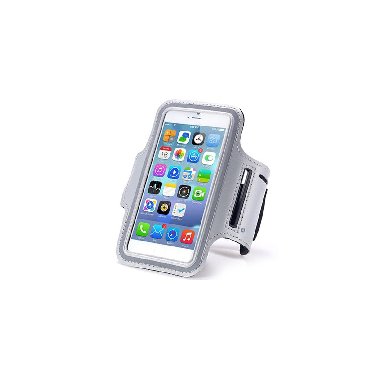 "Sport Gym Running Jogging Armband For Apple iPhone 6 Plus 5.5"" grey"