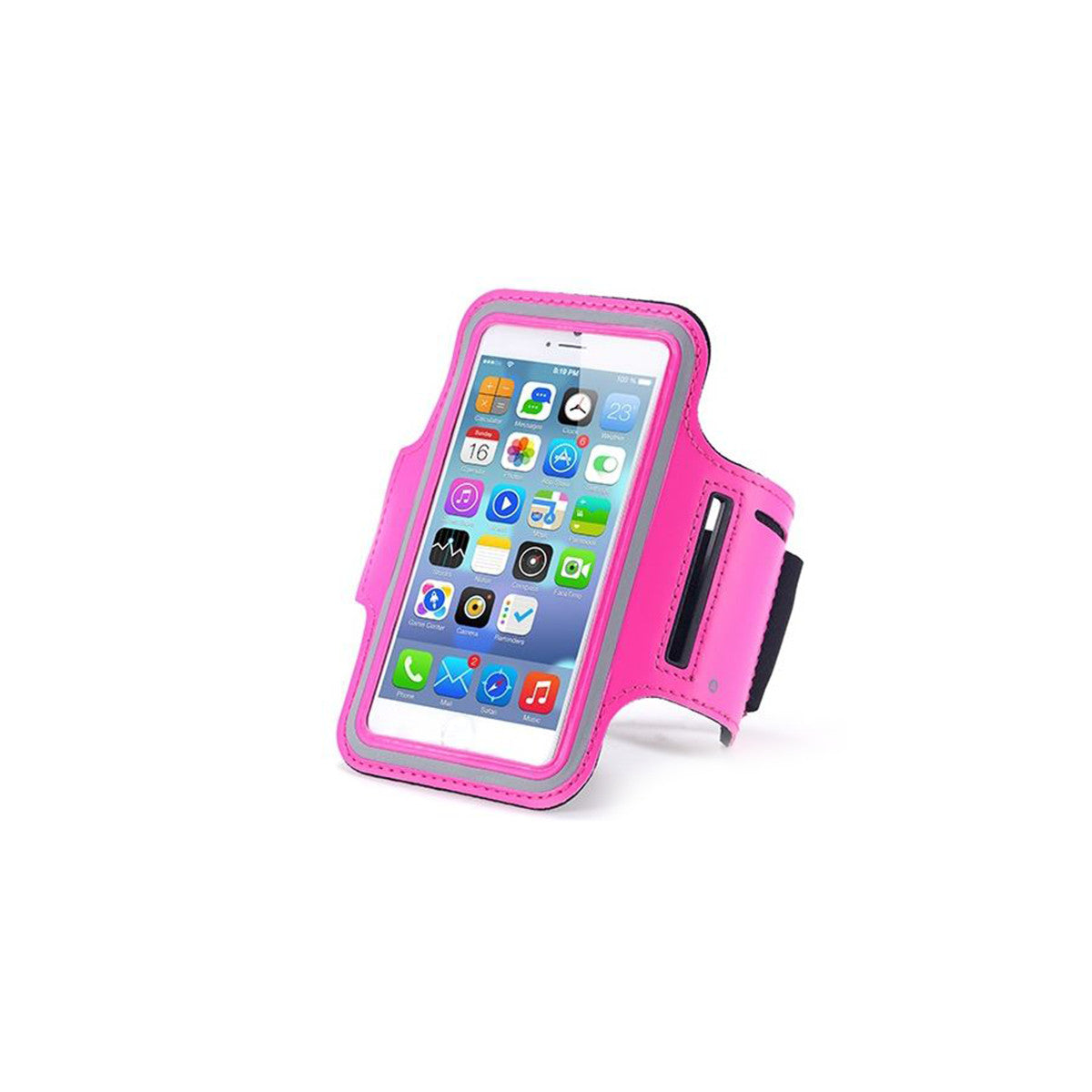 "Sport Gym Running Jogging Armband For Apple iPhone 6 Plus 5.5"" pink"