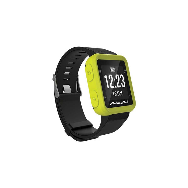 Mobile Mob Shockproof Garmin Forerunner 35 Protective Cover Case Lime