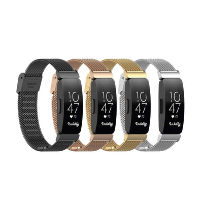 Mobile Mob Milanese Fitbit Inspire & Inspire HR Band Replacement Quick Release