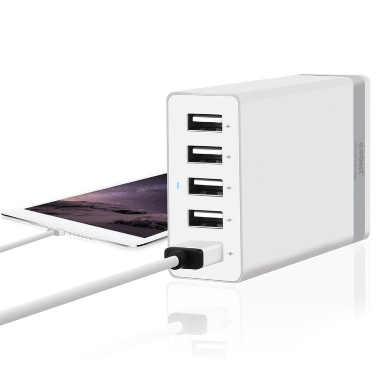 5-Port Rapid 40W USB Smart Charger (8.0A)