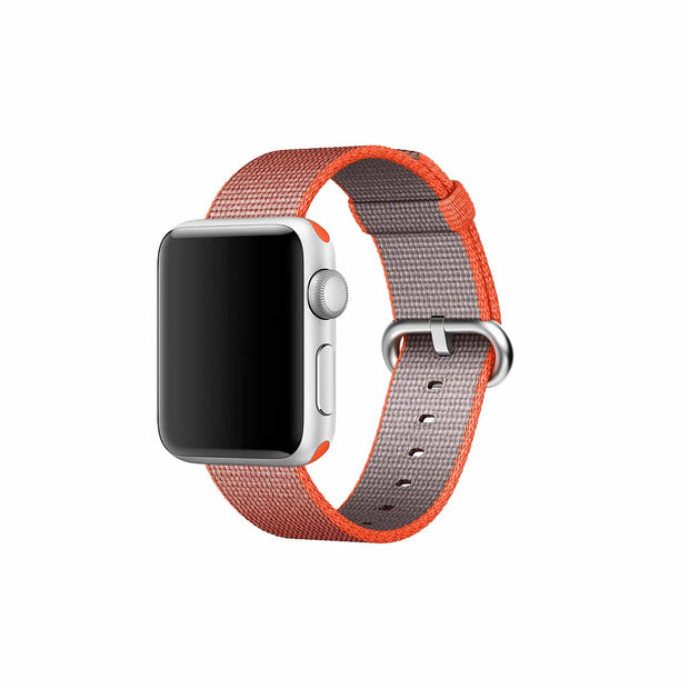 Mobile Mob Apple Watch Woven Nylon Band Replacement Straps 38MM/40MM / Orange