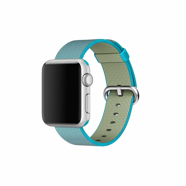 Mobile Mob Apple Watch Woven Nylon Band Replacement Straps 38MM/40MM / Skuba Green