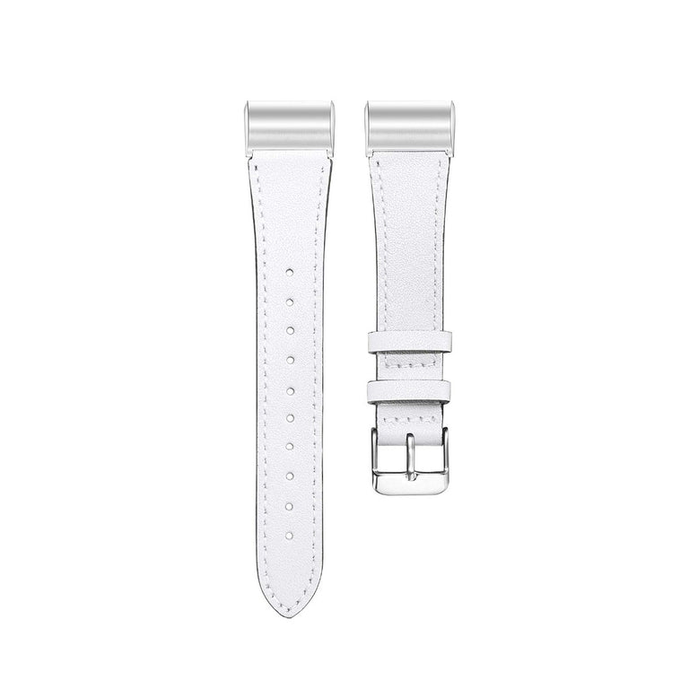 Fitbit Charge 3 Bands Leather Replacement Strap Wristband + Stainless Buckle