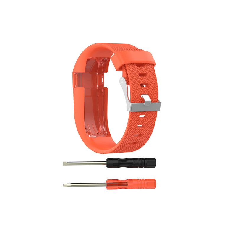 Fitbit Charge HR Replacement Band Strap with Buckle (Large & Small)