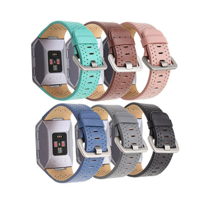 Mobile Mob Leather Fitbit Ionic Band Replacement Strap