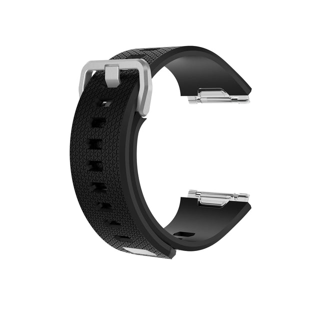 Mobile Mob Fitbit Ionic Classic Band Replacement Strap with Buckle Small / Black