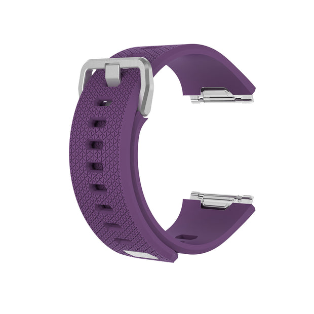 Mobile Mob Fitbit Ionic Classic Band Replacement Strap with Buckle Small / Dark Purple