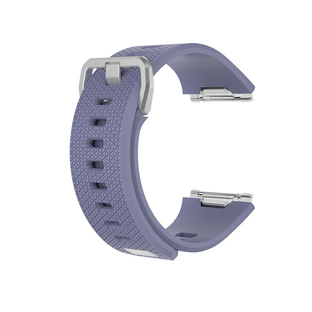 Mobile Mob Fitbit Ionic Classic Band Replacement Strap with Buckle Small / Light Grey