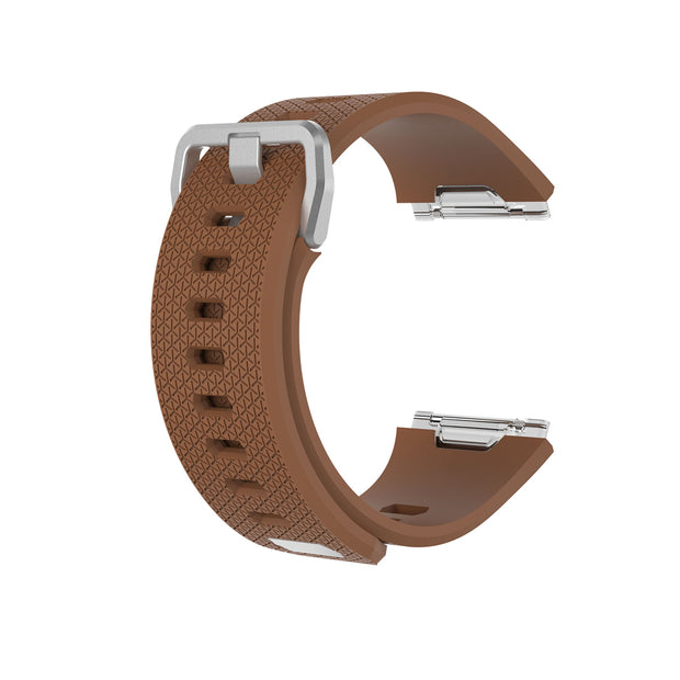 Mobile Mob Fitbit Ionic Classic Band Replacement Strap with Buckle Small / Brown