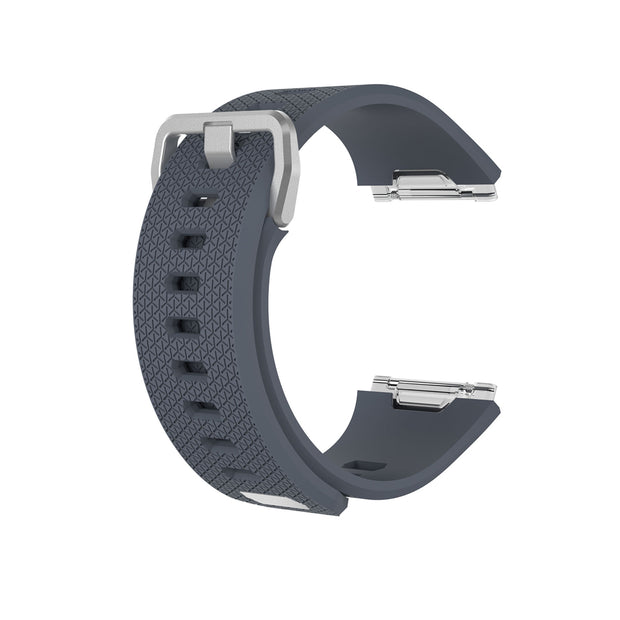 Mobile Mob Fitbit Ionic Classic Band Replacement Strap with Buckle Small / Dark Grey
