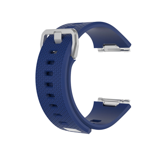 Mobile Mob Fitbit Ionic Classic Band Replacement Strap with Buckle Small / Navy Blue
