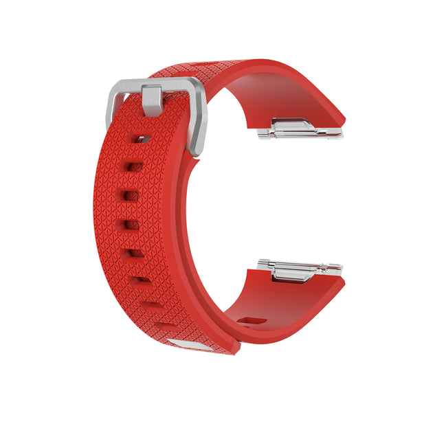 Mobile Mob Fitbit Ionic Classic Band Replacement Strap with Buckle Small / Orange-Red