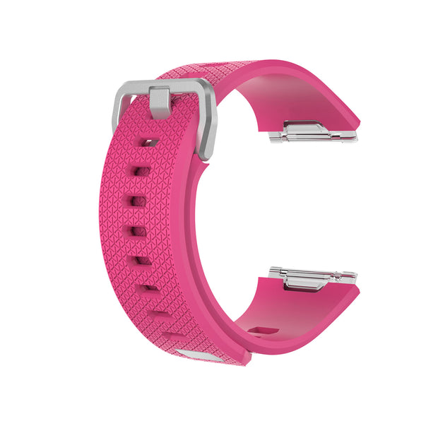 Mobile Mob Fitbit Ionic Classic Band Replacement Strap with Buckle Small / Pink